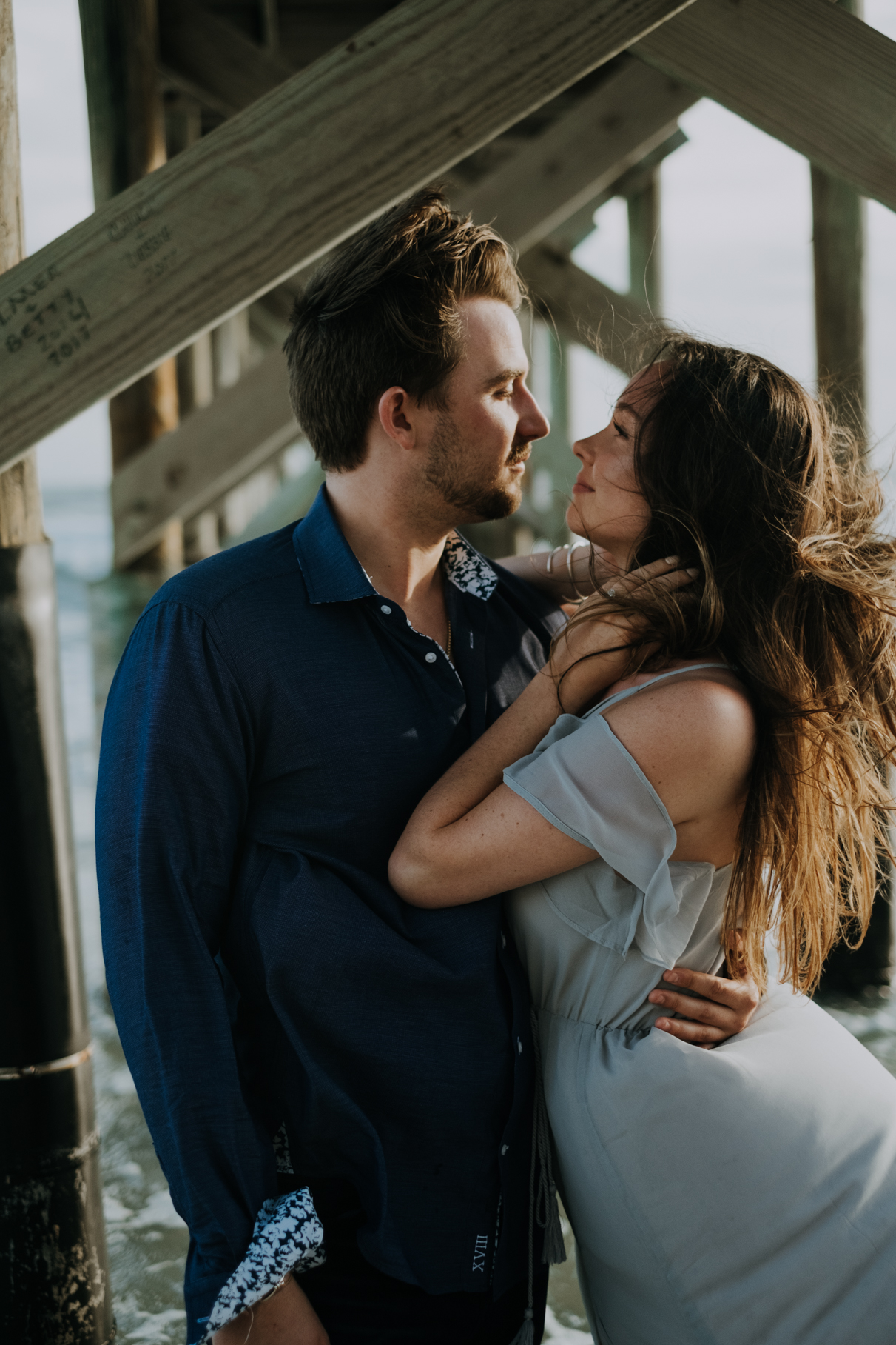 claire + cole | st petersburg engagement | tampa wedding photography and film