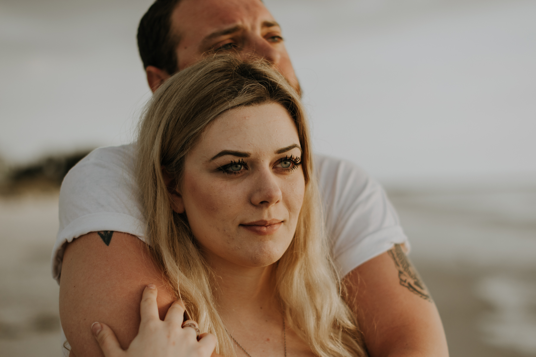 emily + brett | st pete beach engagement | freehearted film co | tampa wedding photography for freespirited lovers