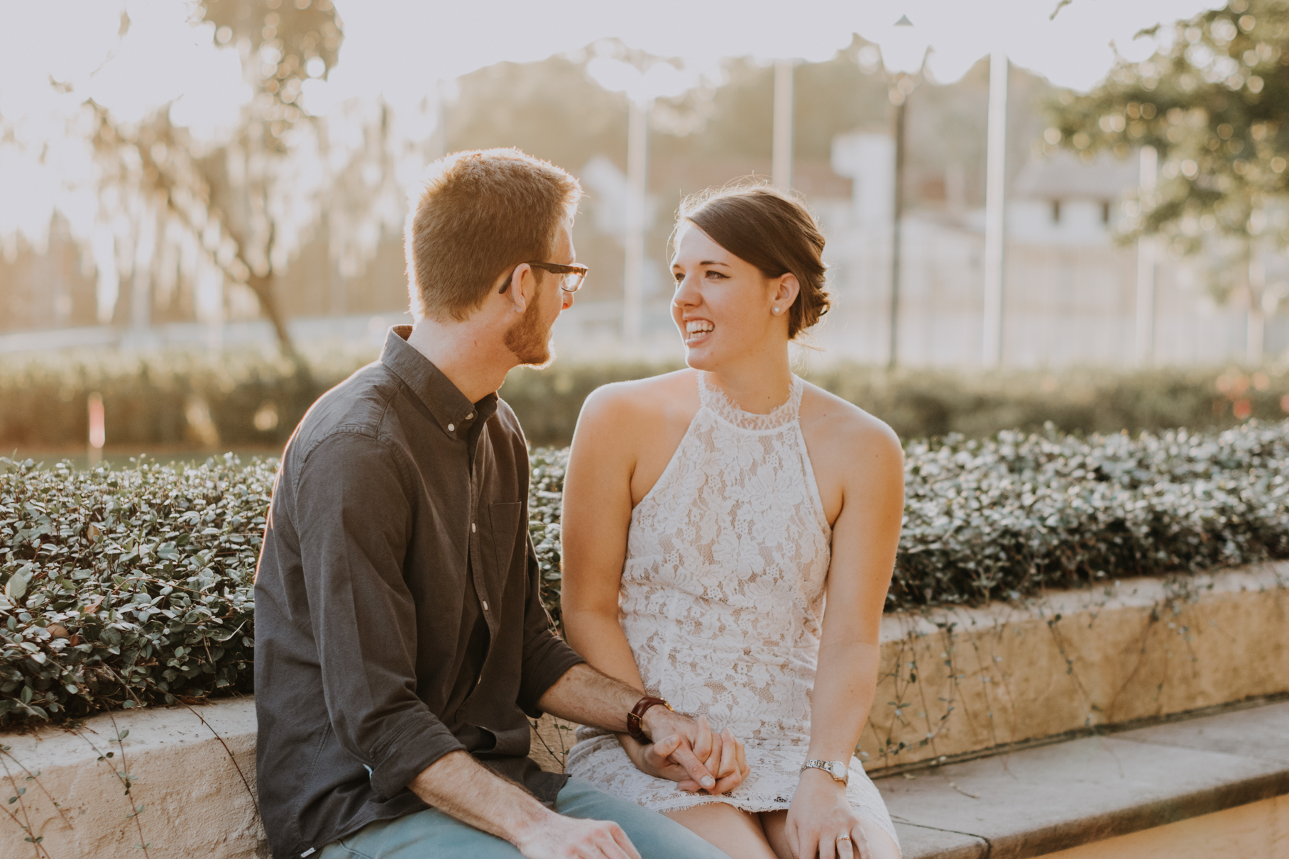 kayla + nathan | rollins college proposal | tampa wedding photographer