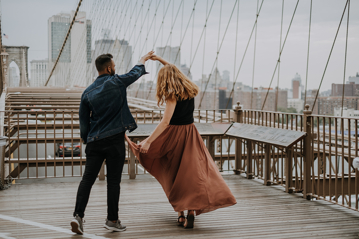 New York engagement photographer | freehearted film co