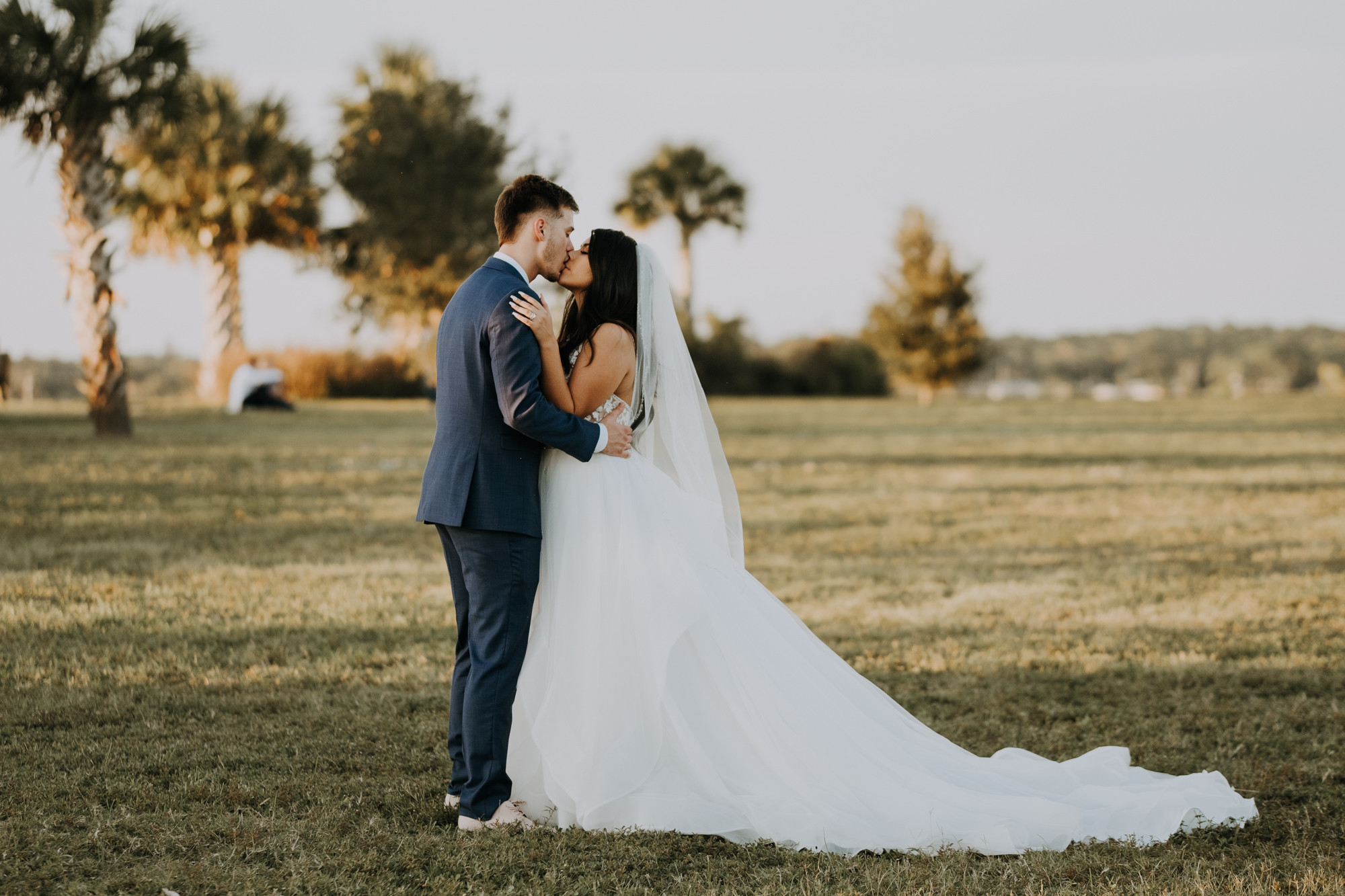 romantic bridal portraits | intimate wedding photos | romantic sarasota wedding | outdoor Florida wedding | boho wedding portraits