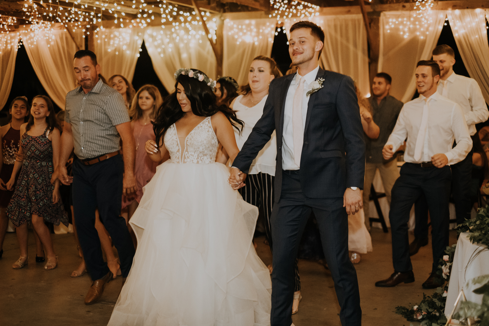 open dancing | reception dancing | boho wedding reception | Florida wedding | romantic sarasota wedding