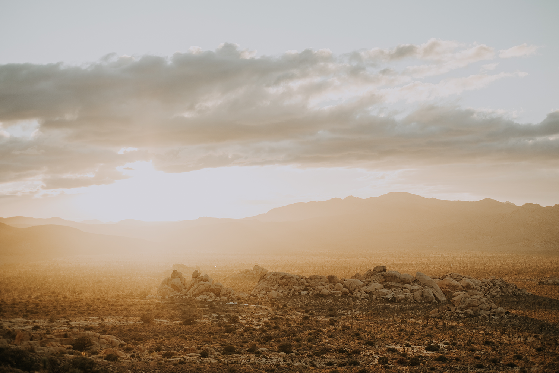 San Diego desert sunset