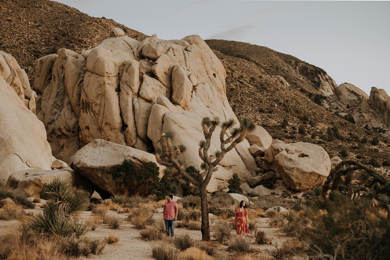 San Diego engagement session, Joshua tree engagement session, desert engagement session