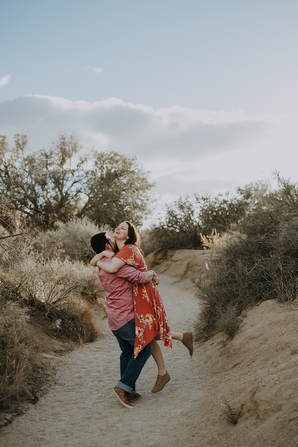 San Diego engagement session, Joshua tree engagement session, desert engagement session